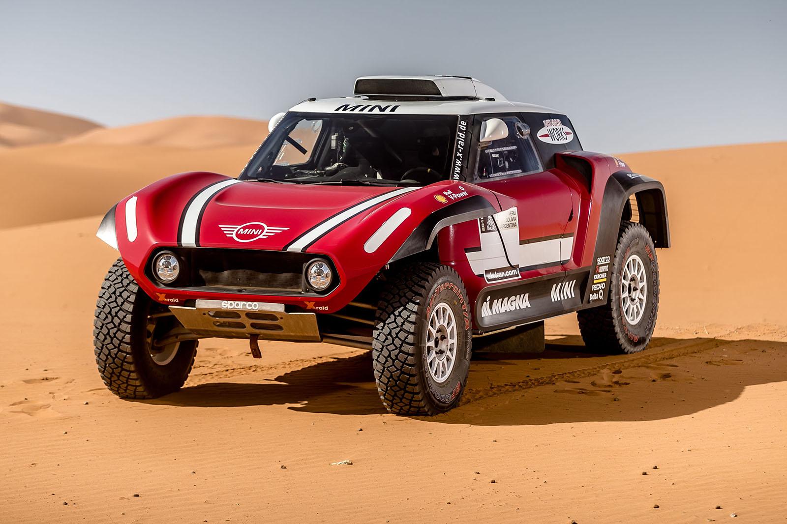 Mini John Cooper Works Buggy нацелился на ралли Dakar Rally с компоновкой заднего привода
