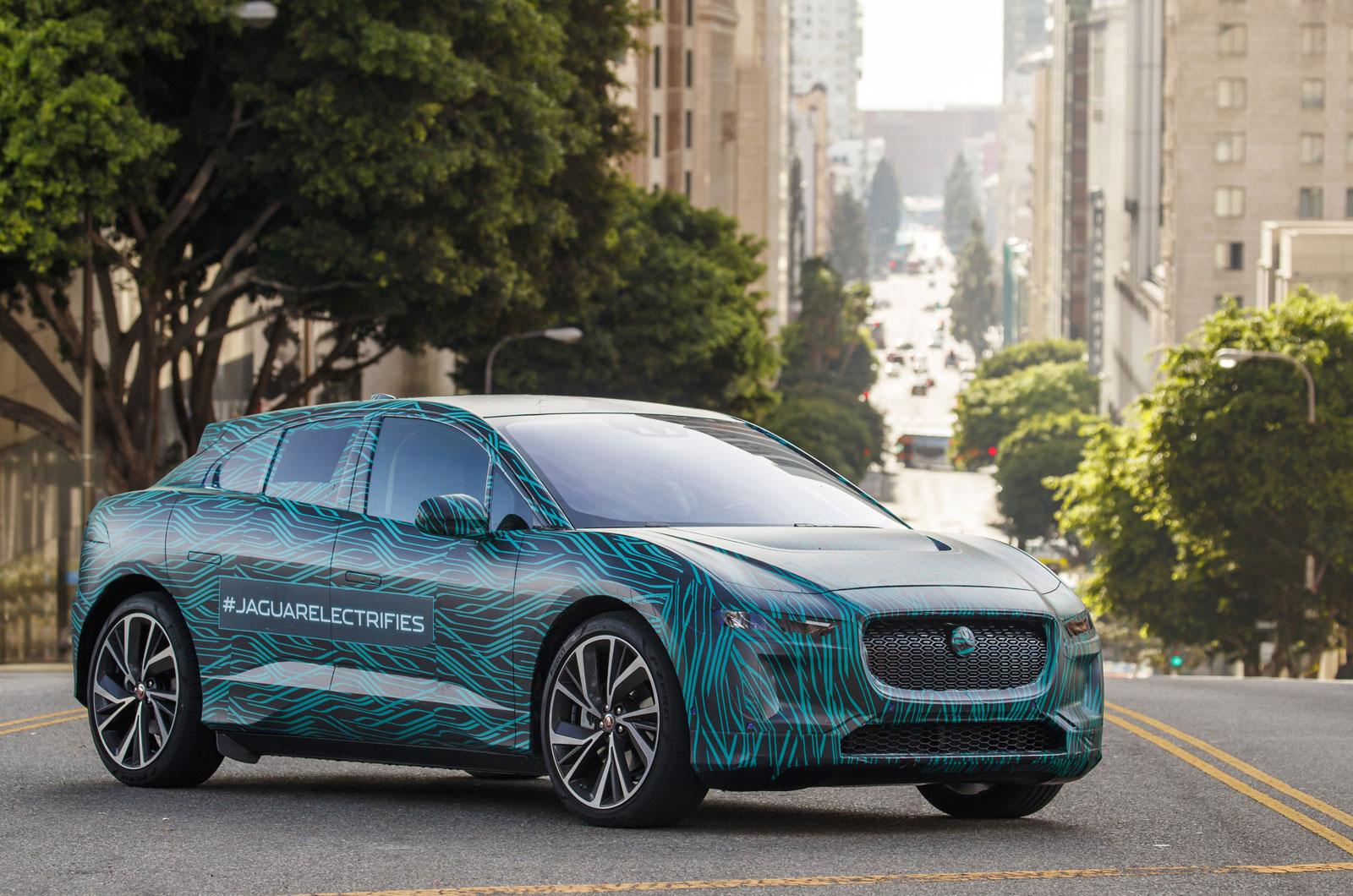 Разработка Jaguar I-Pace по курсу на запуск в марте 2018 года