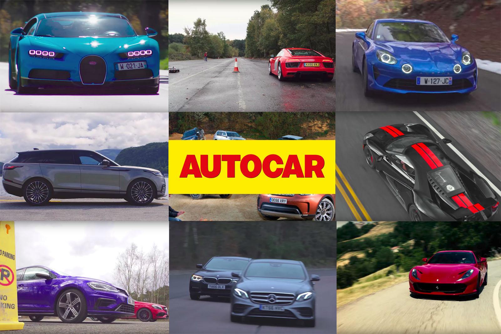 Autocar's лучший из 2017 года: наши 10 лучших видео