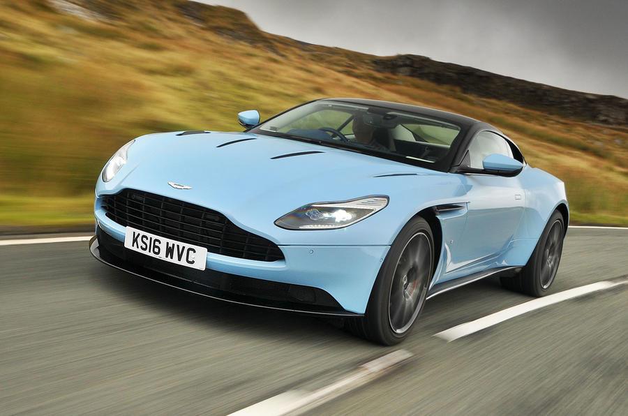 Aston Martin DB11 напомнил из-за проблемы с рулевой колонкой Daimler
