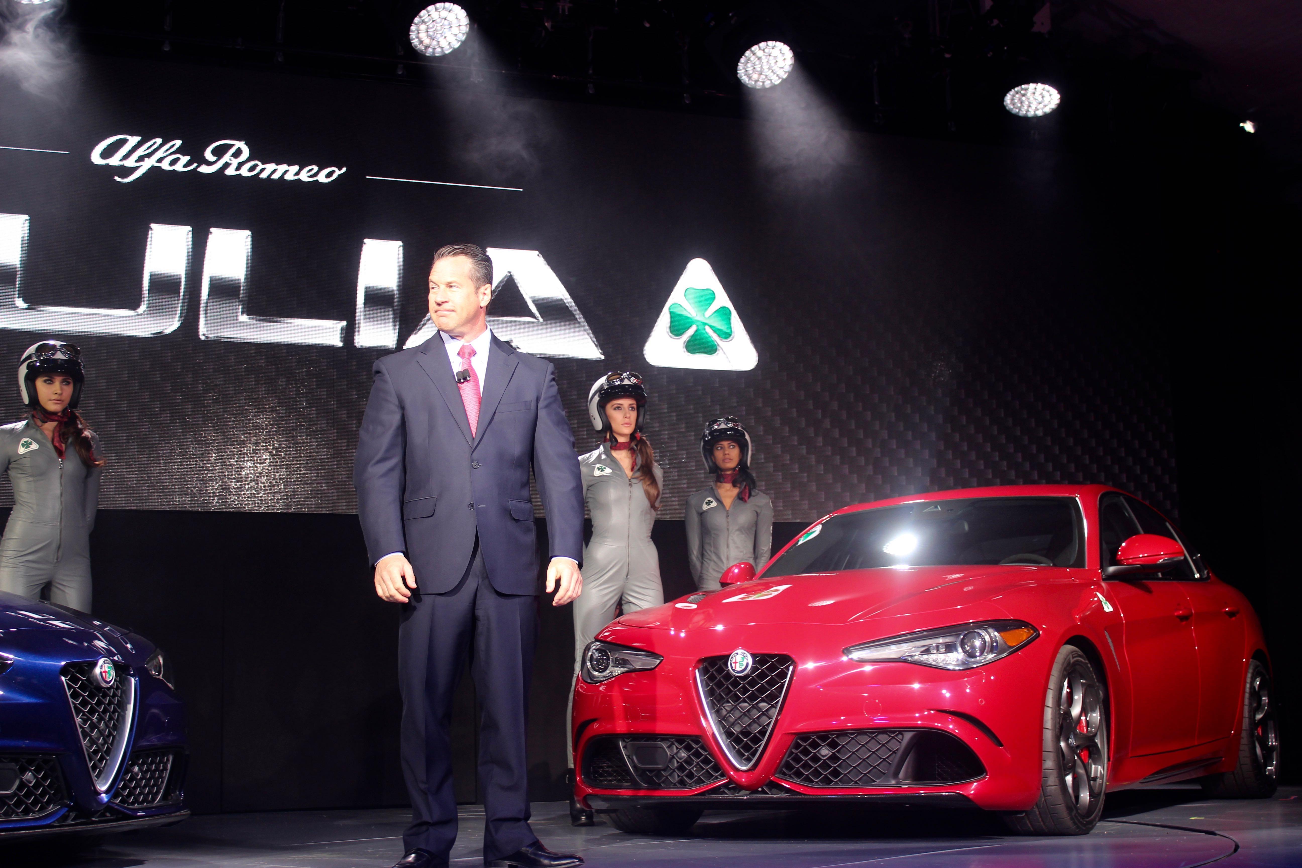 Bigland получает перерыв, когда Fiat Chrysler перетасовывает исполнительную площадку