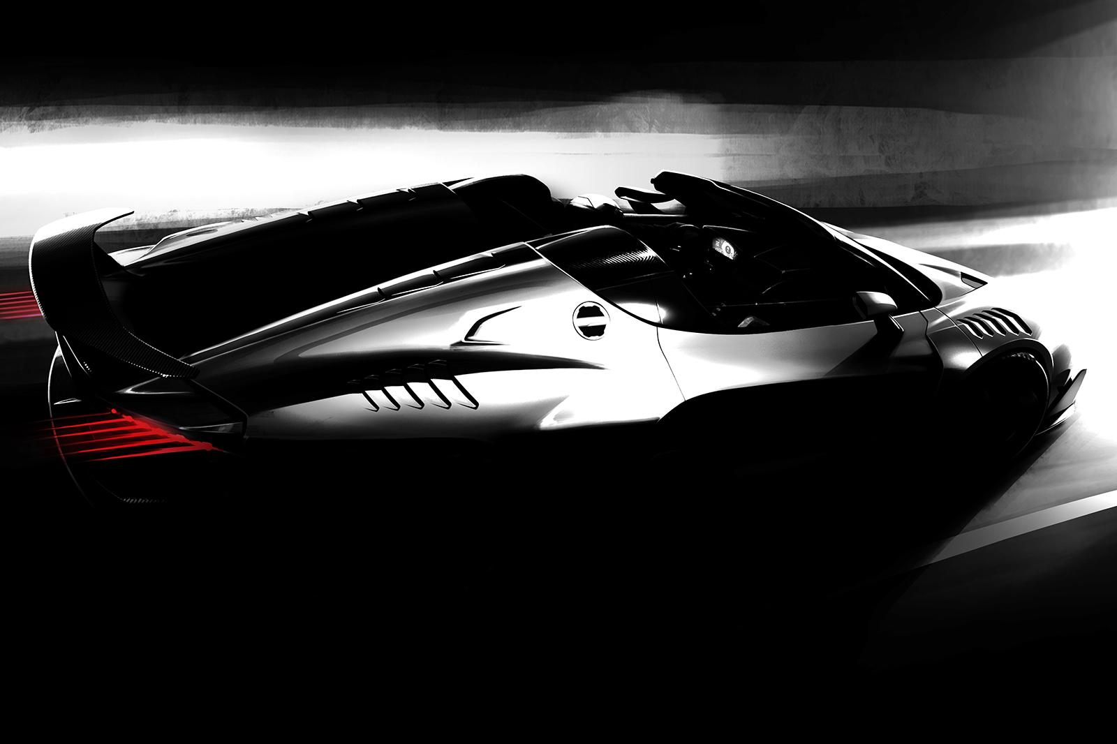 Конвертер Italdesign Zerouno будет представлен на автосалоне в Женеве