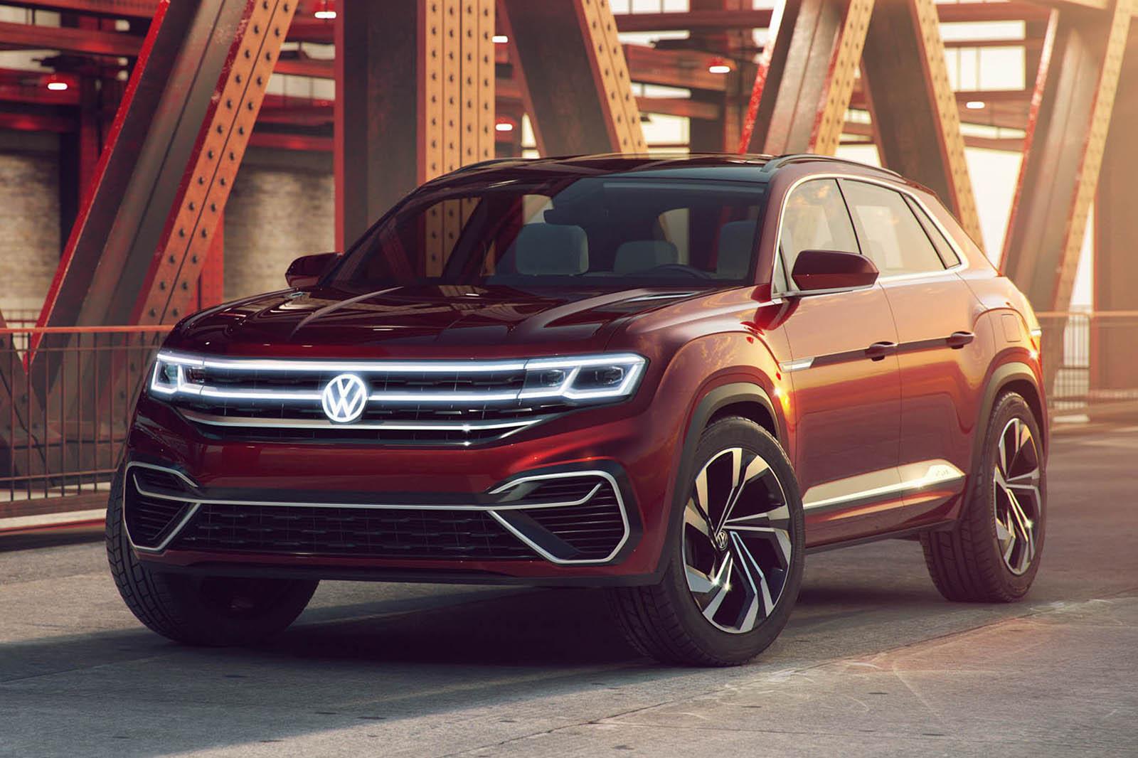 Концепция Volkswagen Atlas Cross Sport открыта