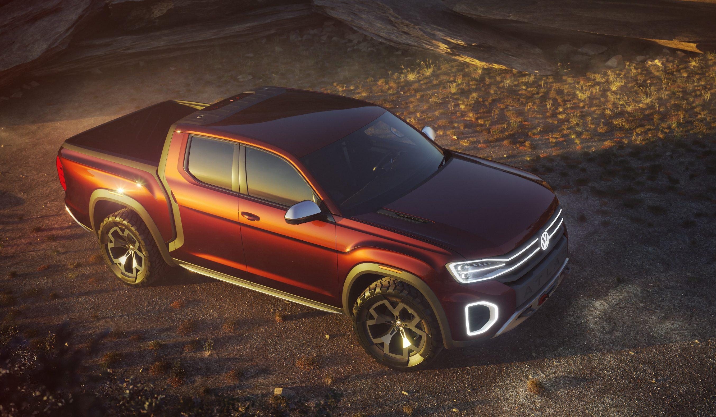Это может быть больше, чем американское энтузиазм, чтобы сделать этот грузовик Volkswagen реальностью