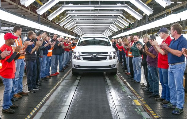 GM предлагает выкуп до 18000 наемных работников