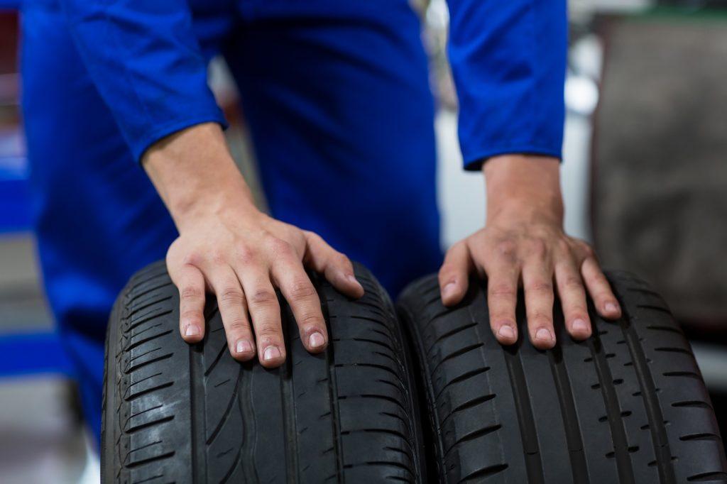 Важность монтажа шин летом, в теплое время года [P]
