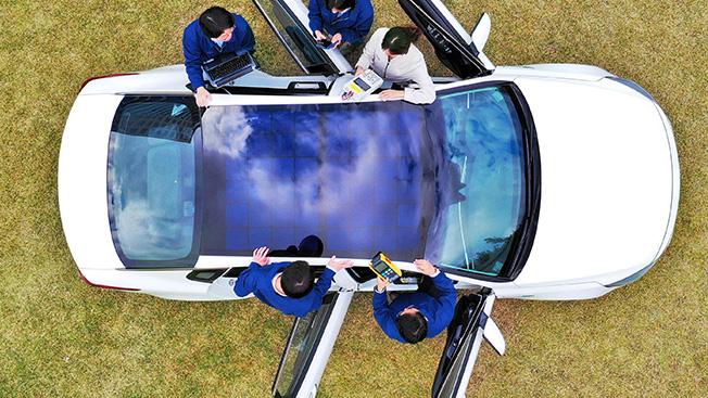Хундай, Киа, направленных на солнечных крыш, начиная в 2019 году